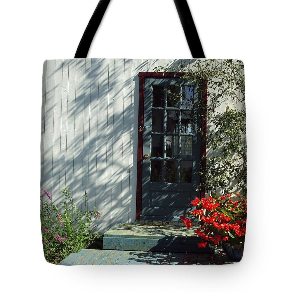 Tote Bag featuring the photograph Somewhere At St Louis Village by Line Gagne
