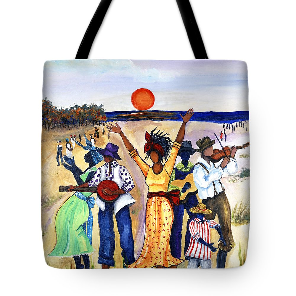 Great Migration Tote Bags