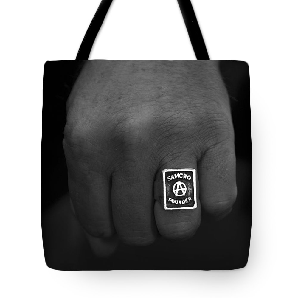 Sons Tote Bag featuring the photograph Sons by Stormy Mystique