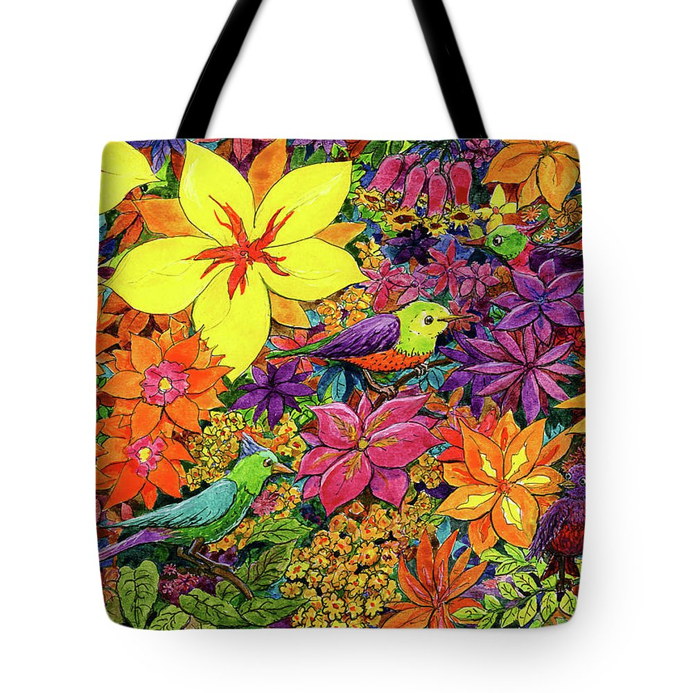 Tote Bag featuring the painting Sophie 7 by Charles Cater