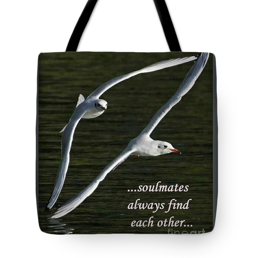 Tote Bag featuring the photograph Soulmates by Terrie Sizemore