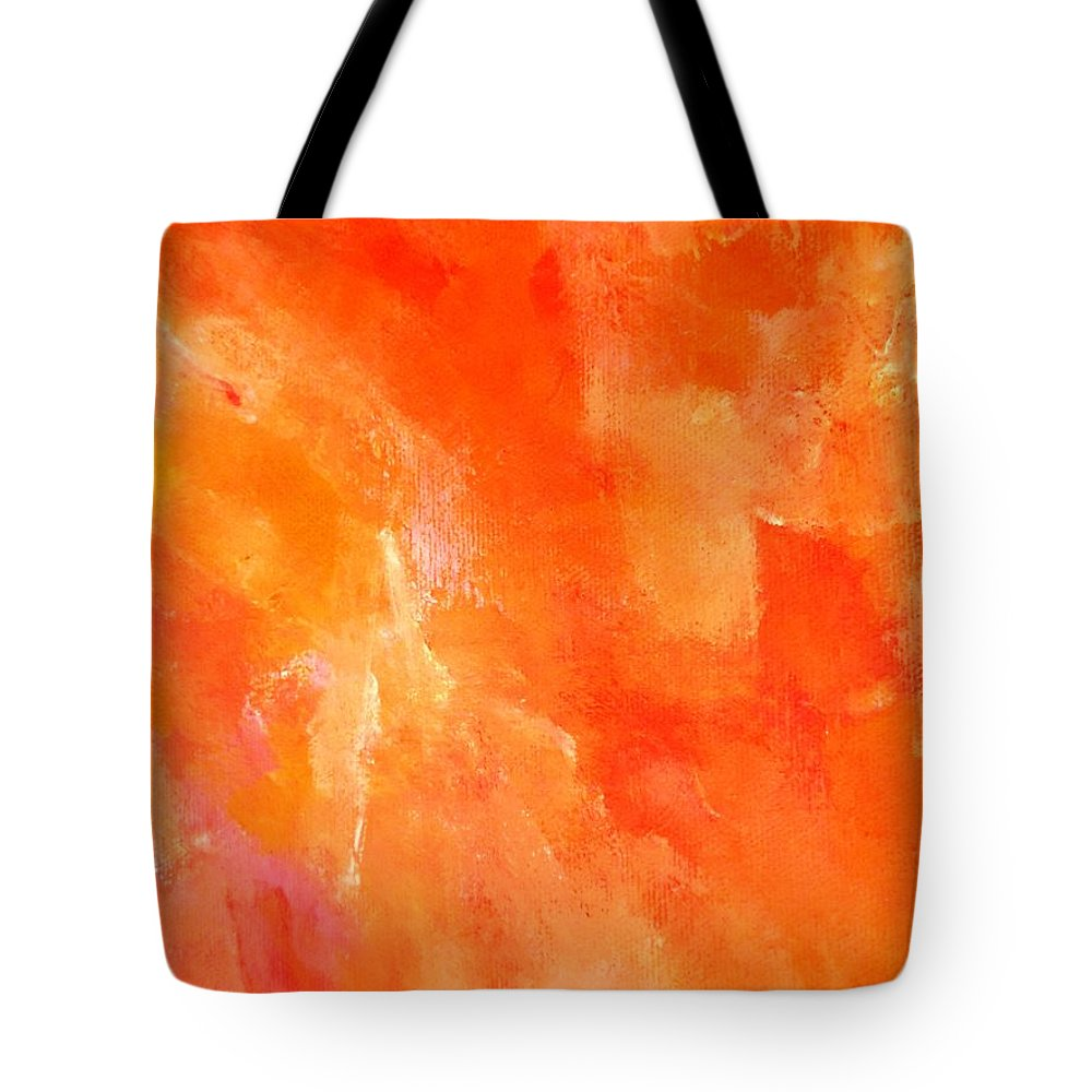 Truck Tote Bag featuring the painting Souls by Lord Frederick Lyle Morris - Disabled Veteran