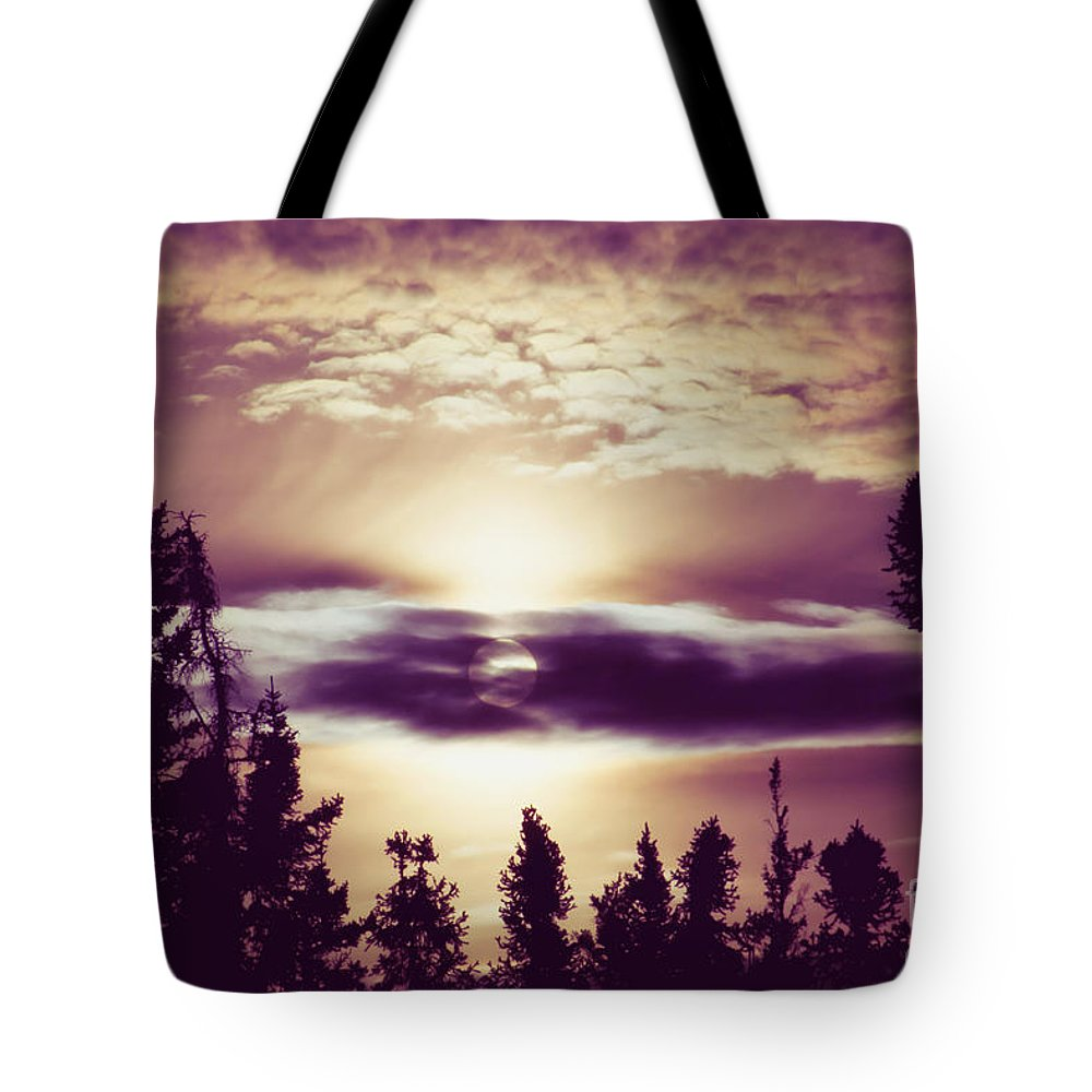 Sound Of The Sun Tote Bag featuring the photograph Sound Of The Sun by Sharon Mau