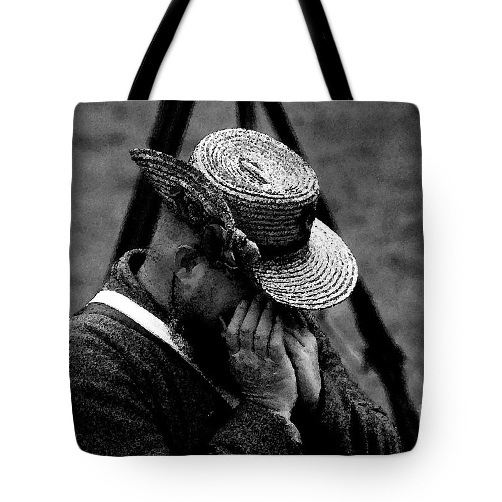 Art Tote Bag featuring the painting Sounds Of The Old West by David Lee Thompson