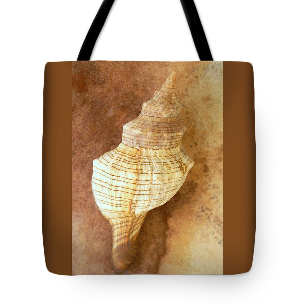 Still Life Tote Bag featuring the photograph Sounds Of The Sea by Holly Kempe
