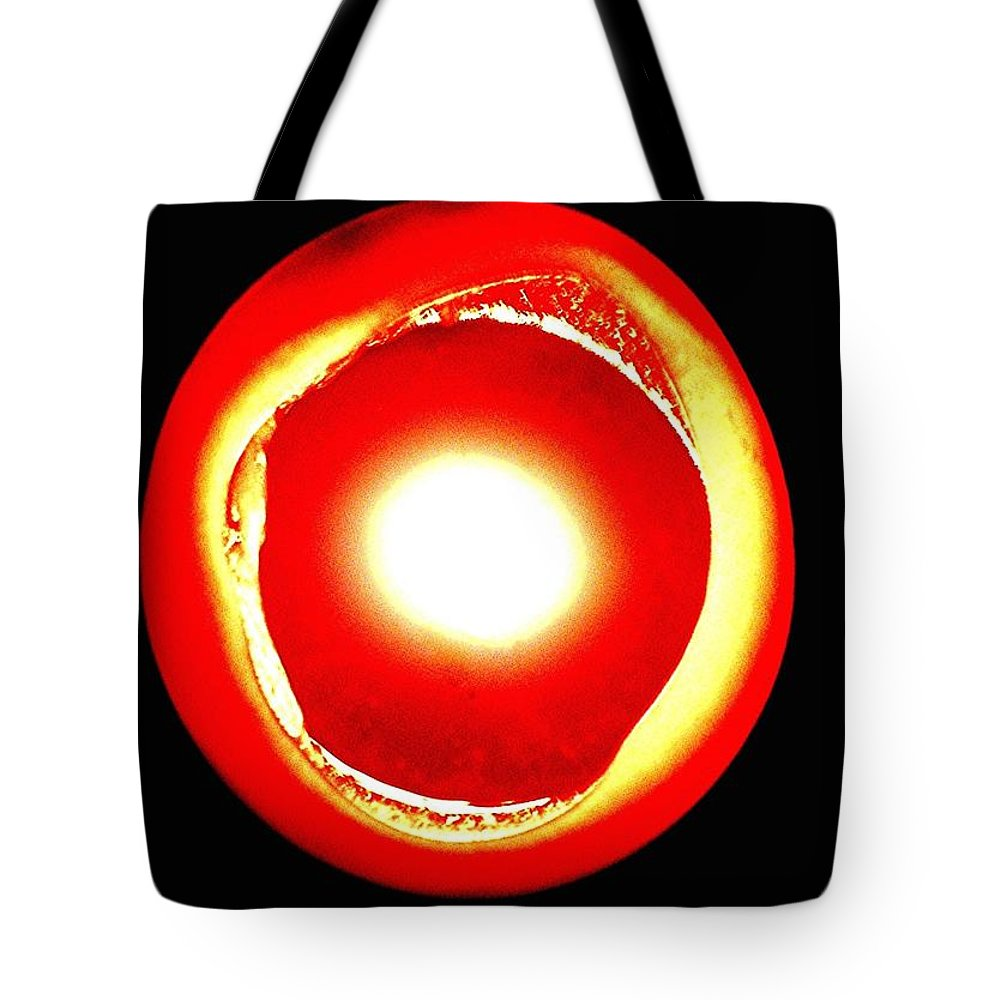 Light Tote Bag featuring the photograph Source by TBlendI Seez