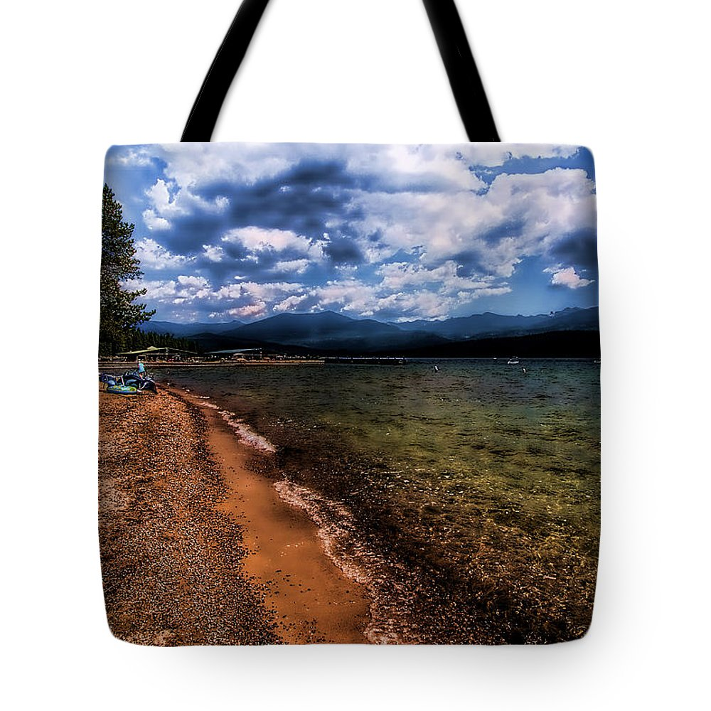 Priest Lake Tote Bag featuring the photograph South Beach At Priest Lake by David Patterson