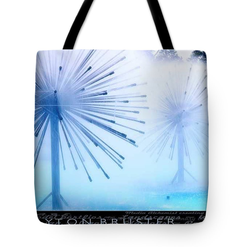 Clay Tote Bag featuring the photograph Southern California Fountains by Clayton Bruster
