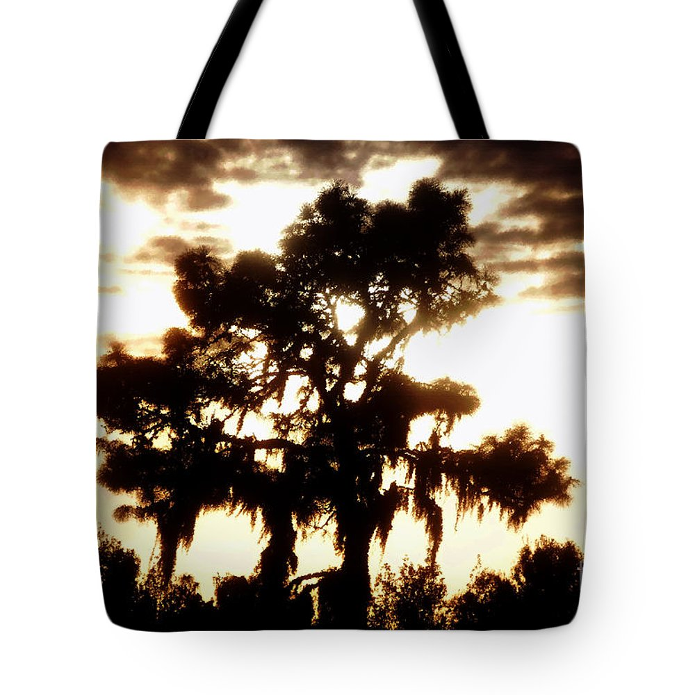 Pine Tree Tote Bag featuring the painting Southern Pine by David Lee Thompson