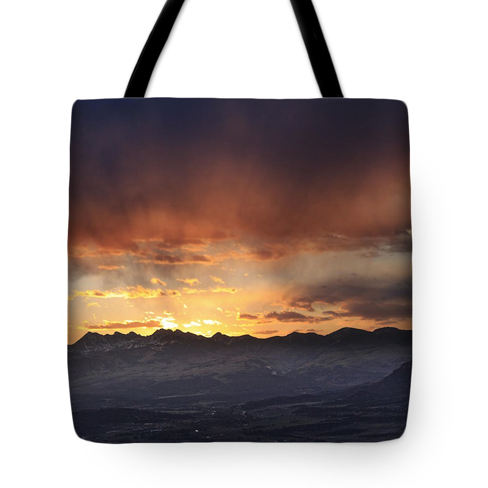 Colorado Tote Bag featuring the photograph Southwest Colorado Sunset by John Zeising