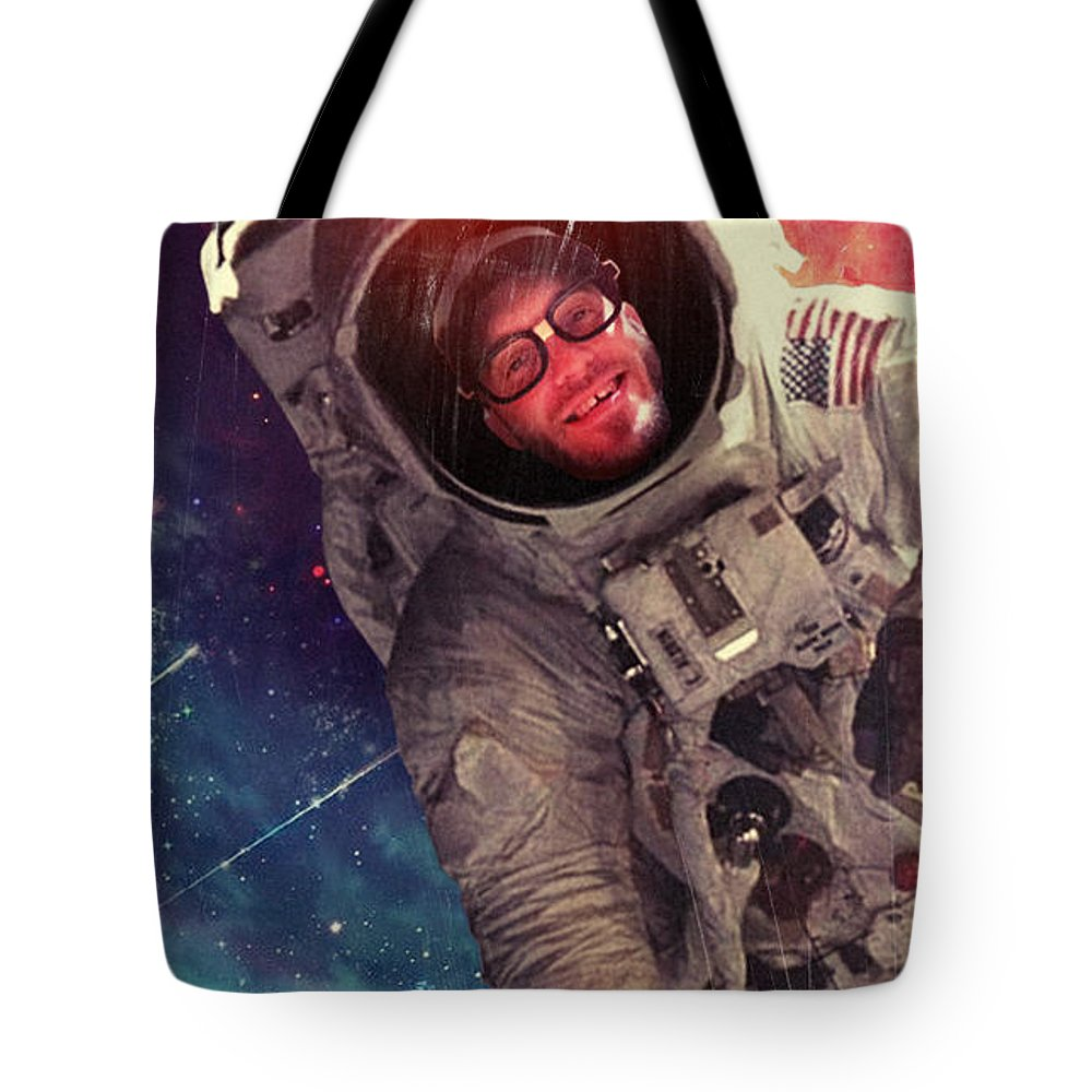 Tote Bag featuring the photograph Spaced by Josh Brown