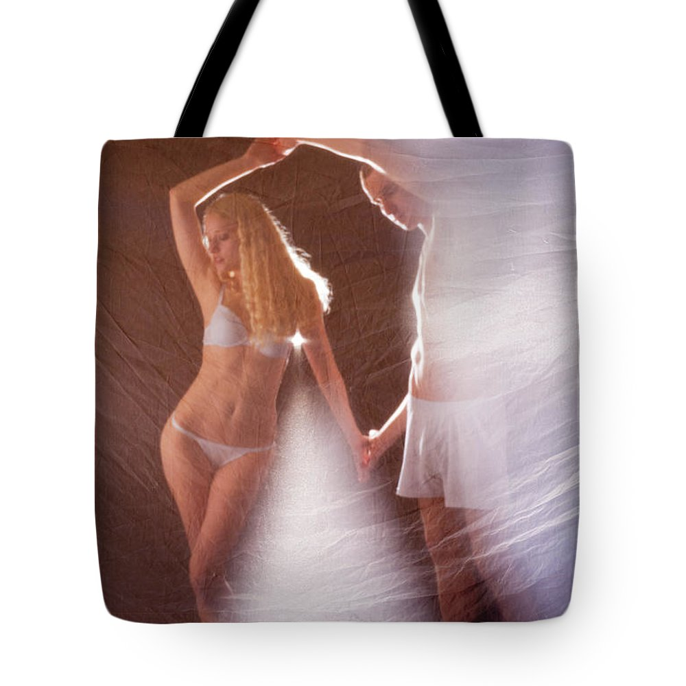 Dance Tote Bag featuring the photograph Sparkling Dance by Scott Sawyer