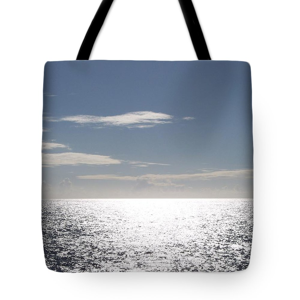 Ocean Tote Bag featuring the photograph Sparkling Ocean by Michelle Miron-Rebbe