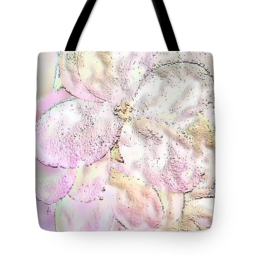 Ebsq Tote Bag featuring the photograph Speak Softly Pink by Dee Flouton