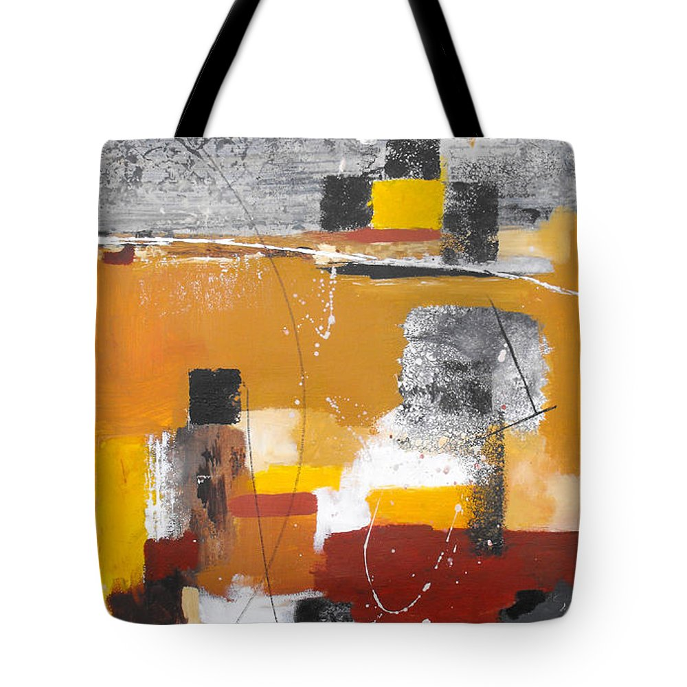 Abstract Tote Bag featuring the painting Special Circumstances II by Ruth Palmer