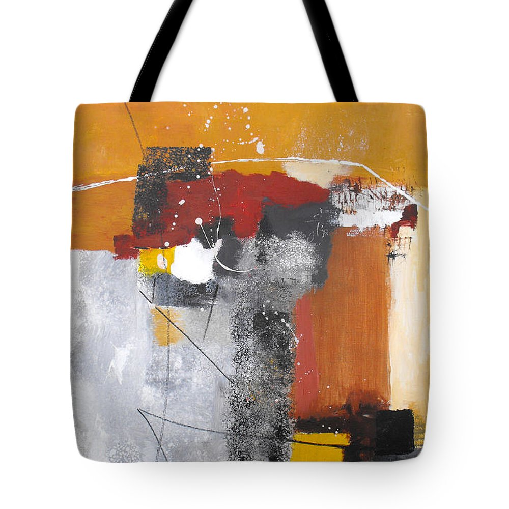 Abstract Tote Bag featuring the painting Special Circumstances by Ruth Palmer
