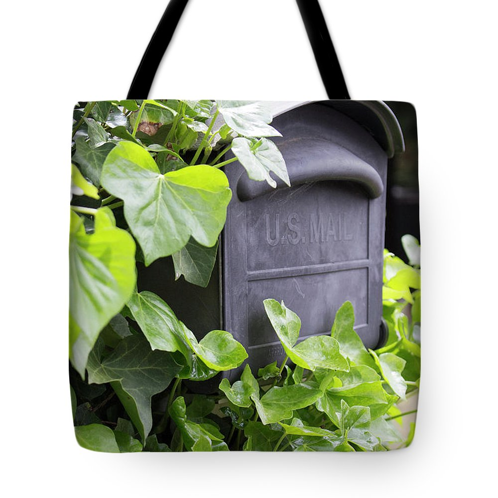 Mailbox Tote Bag featuring the photograph Special Delivery by Images By Paige