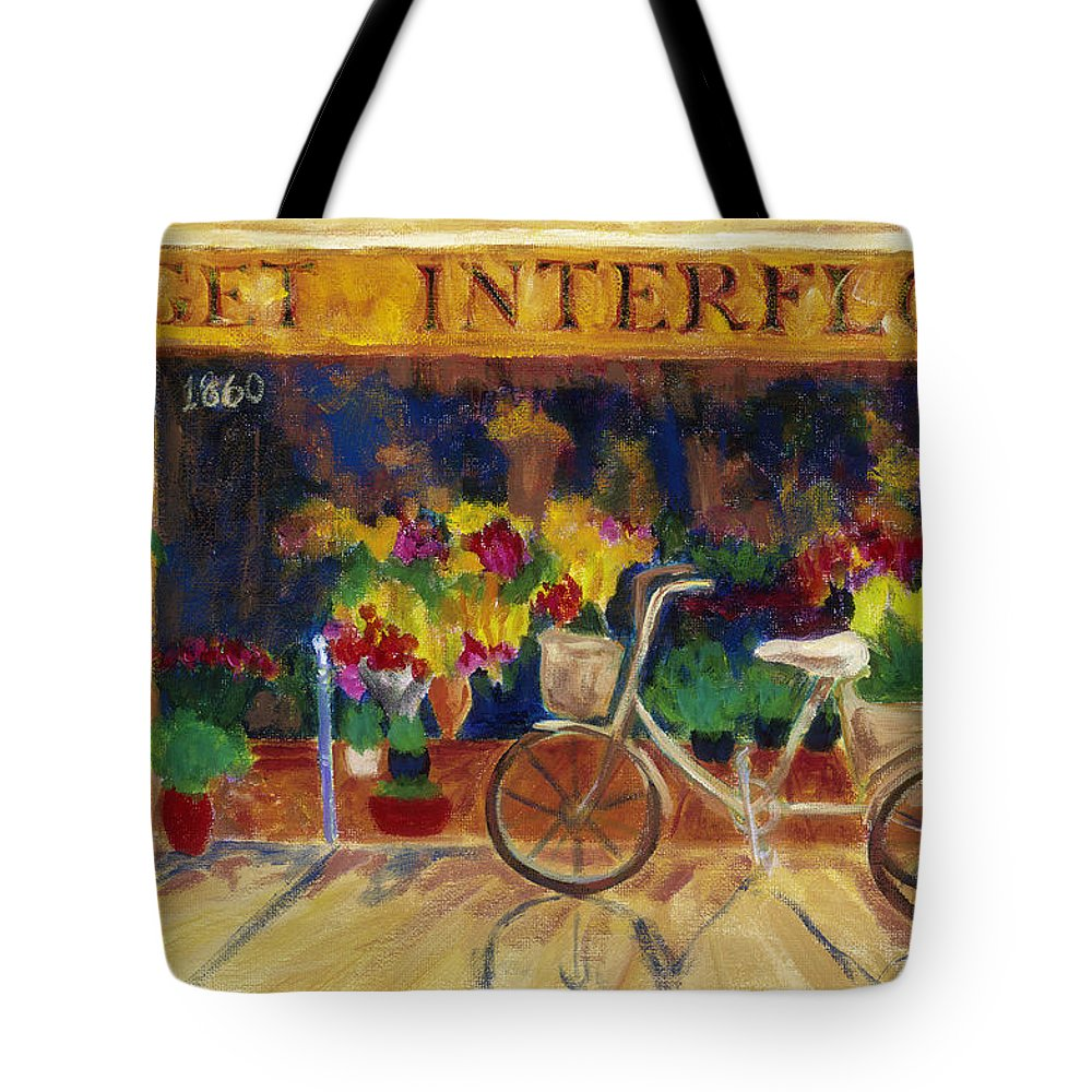 Impressionism Tote Bag featuring the painting Special Delivery by Tara Moorman