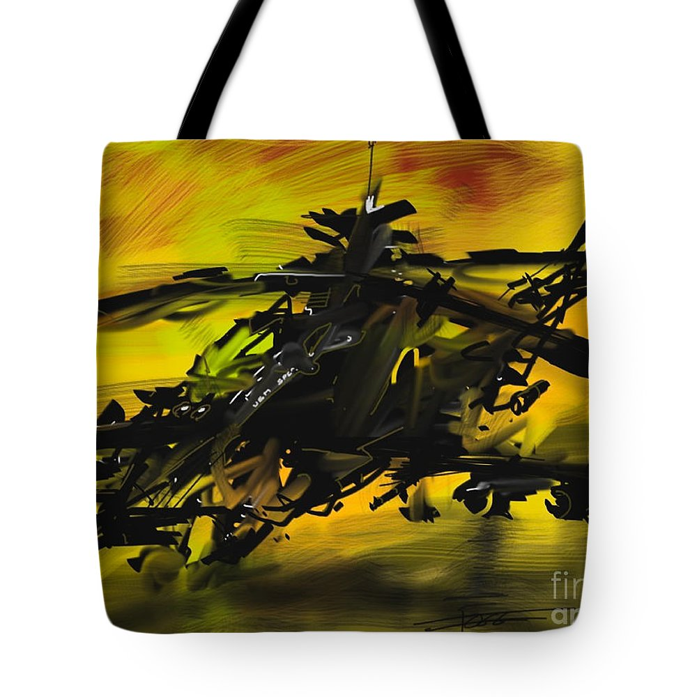 Seal Team Tote Bag featuring the painting Special Forces by Peter Fogg