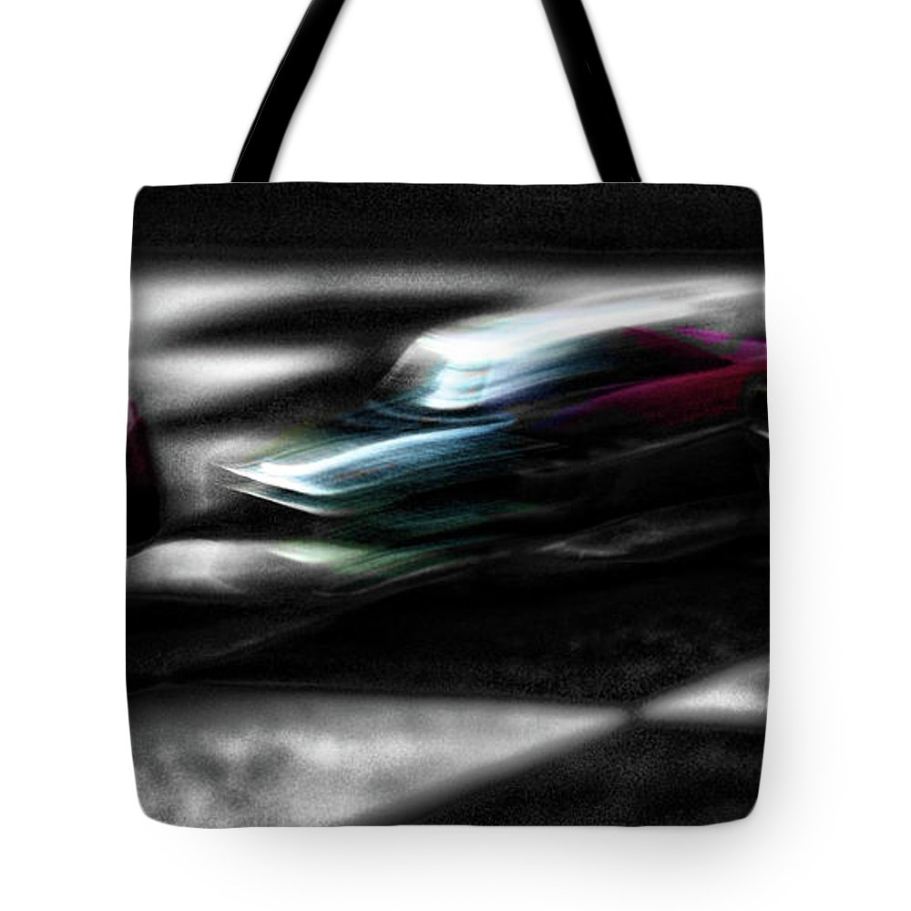 Speed Tote Bag featuring the photograph Speed by Adam Vance