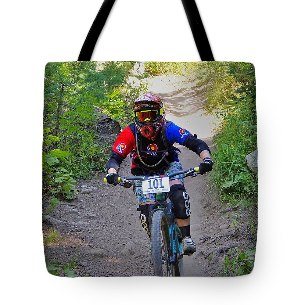 2015 Tote Bag featuring the photograph Speeding Down #101 by Matt Helm