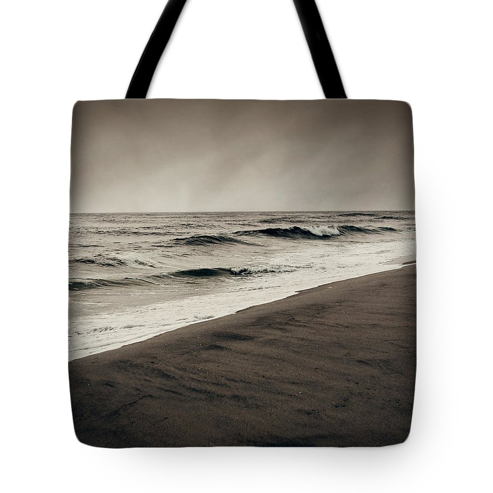 Ocean Tote Bag featuring the photograph Spending My Days Escaping Memories by Dana DiPasquale