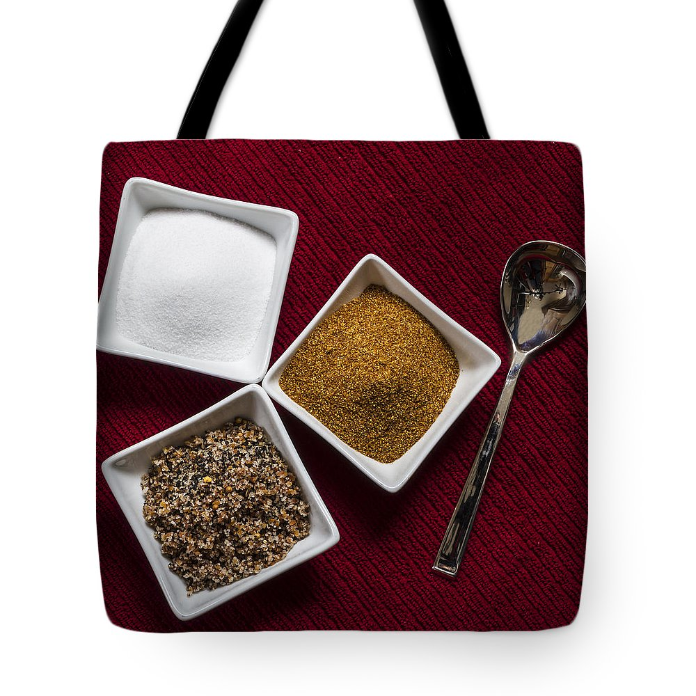 Spices Tote Bag featuring the photograph Spices 6070 by Karen Celella