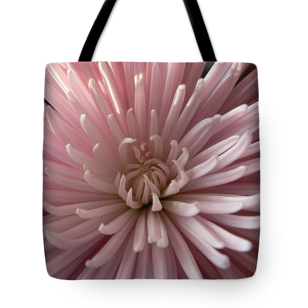 Chrysanthemum Tote Bag featuring the photograph Spider Mum by Serina Wells