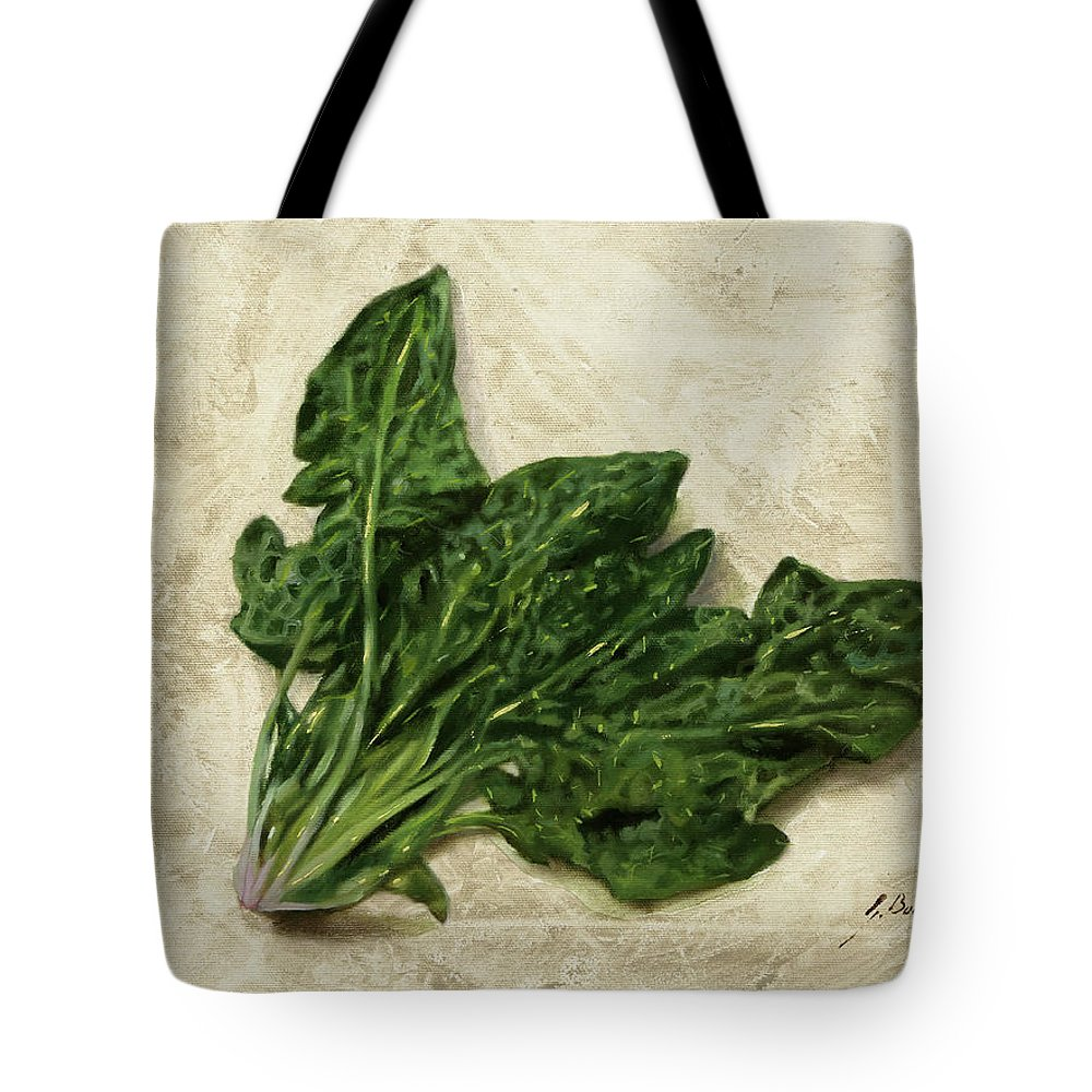 Spinach Tote Bags