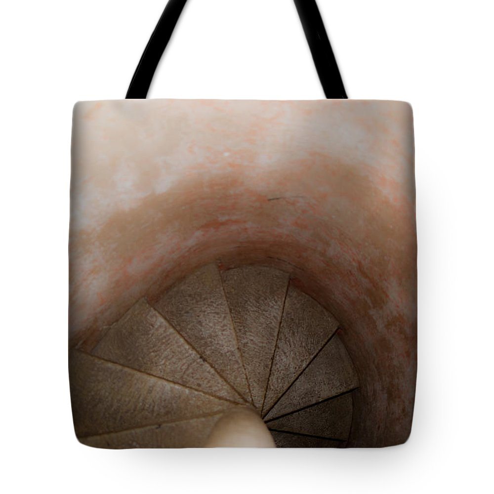 Spirl Tote Bag featuring the photograph Spiral Of Time by Douglas Barnett