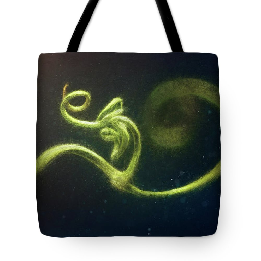 Pea Tote Bag featuring the photograph Spiral by Scott Norris
