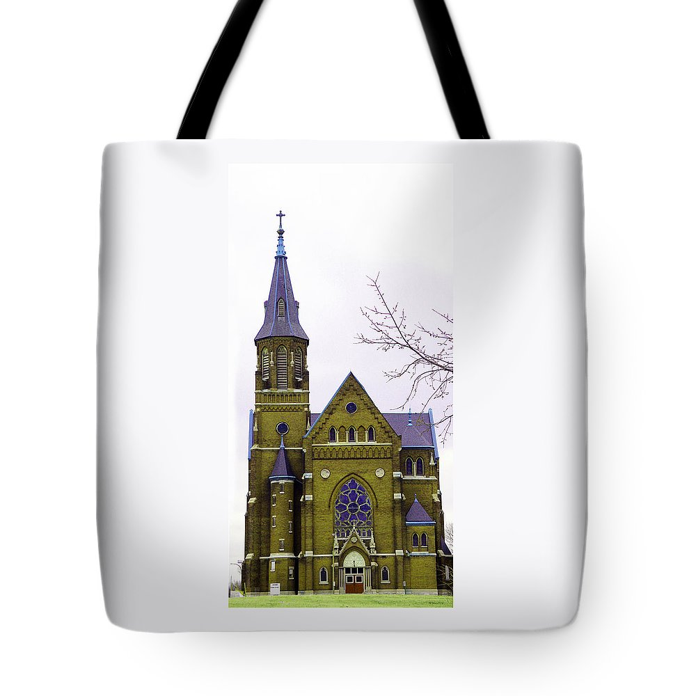 Spire Tote Bag featuring the photograph Spire by Albert Stewart