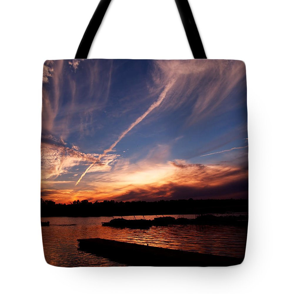 Sky Tote Bag featuring the photograph Spirits In The Sky by Gaby Swanson