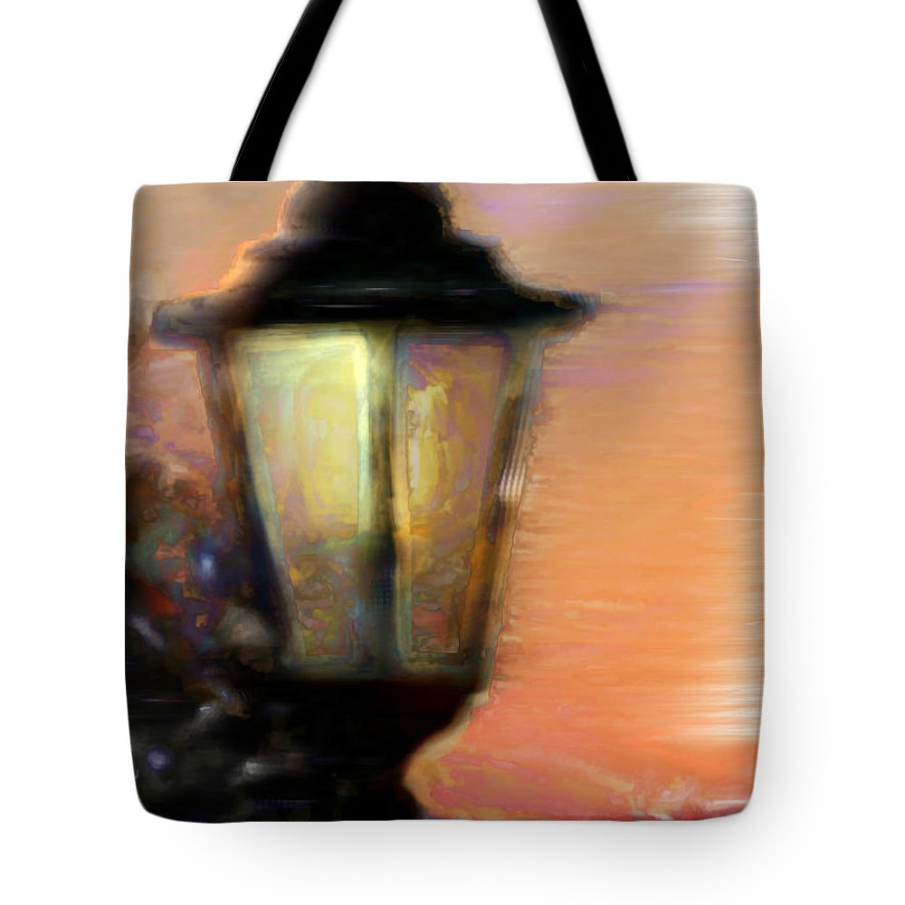 Ebsq Tote Bag featuring the photograph Spiritual Lamp by Dee Flouton