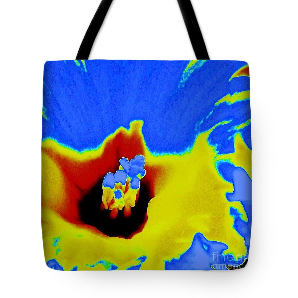Flowers Tote Bag featuring the photograph Splash by Daniele Smith