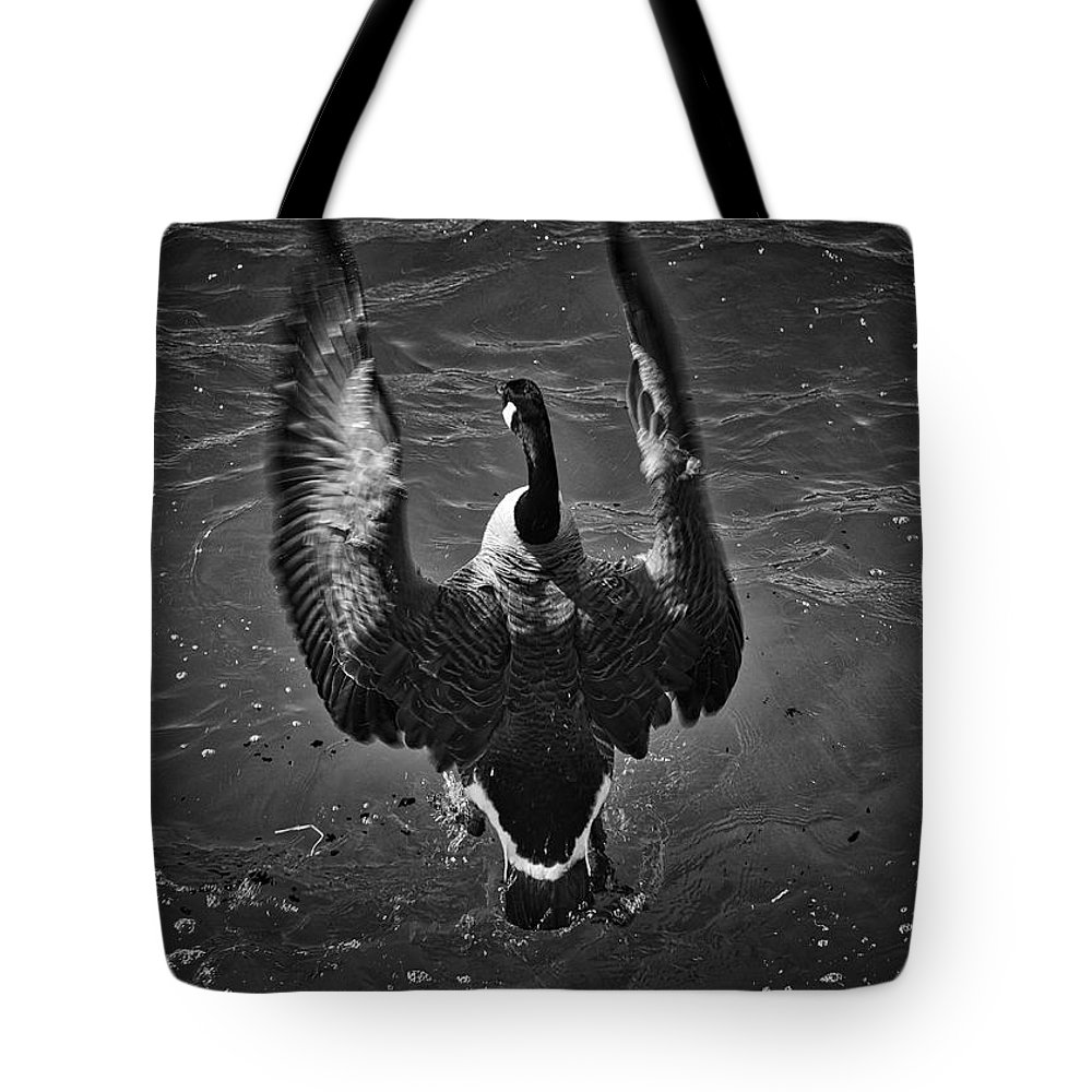 Photography Tote Bag featuring the photograph Splash by Raven Steel Design