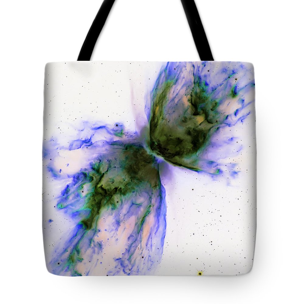 Nebula Tote Bag featuring the photograph Splatter by Jennifer Rondinelli Reilly - Fine Art Photography