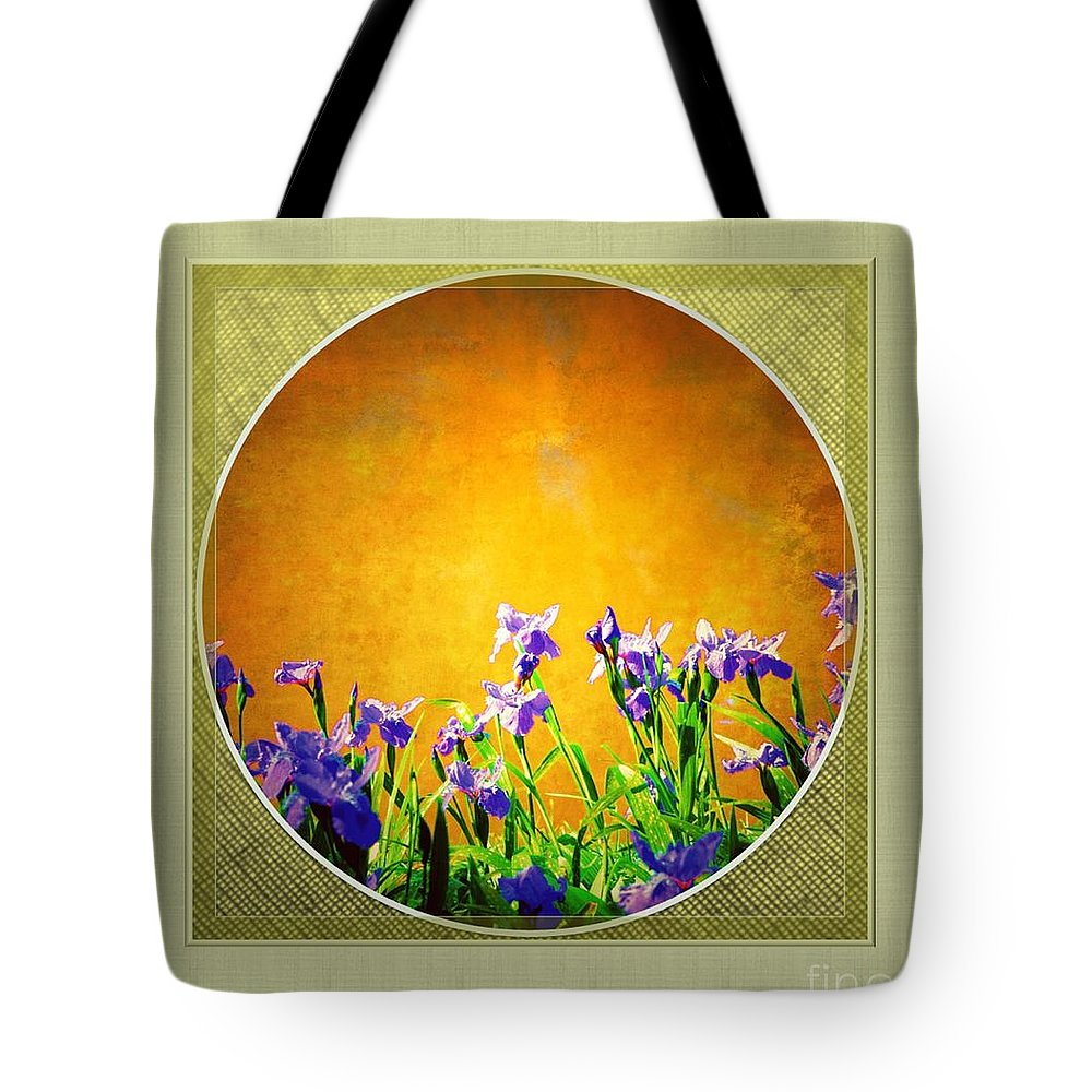 Splendor Tote Bag featuring the digital art Splendor by Darla Wood