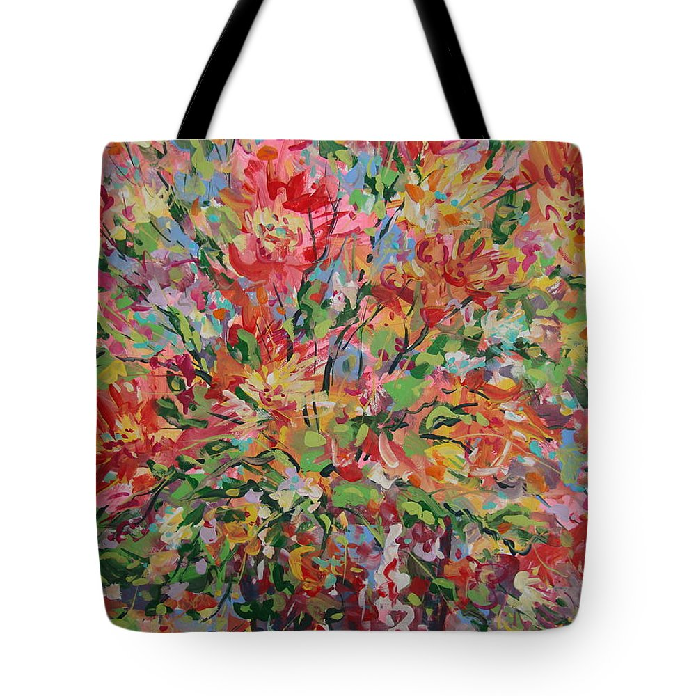 Painting Tote Bag featuring the painting Splendor. by Leonard Holland