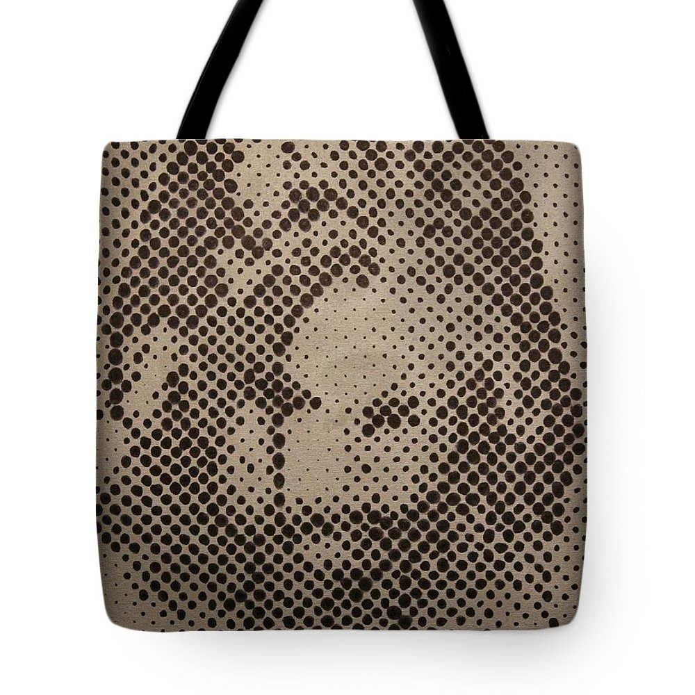 Biblepaintings God Jesus Christ Christian Christianity Bible Gallery Fine Art Steven Louis Doucette Tote Bag featuring the painting Spotless by Steven Louis Doucette