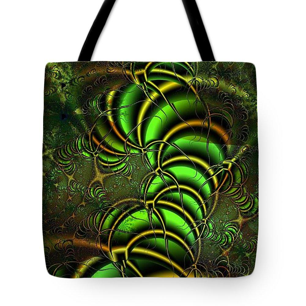 Digital Art Tote Bag featuring the digital art Spring Awakens by Amanda Moore