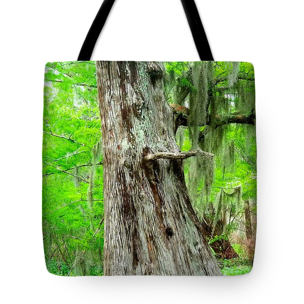 Bayou Tote Bag featuring the photograph Spring Bayou by Gina Welch