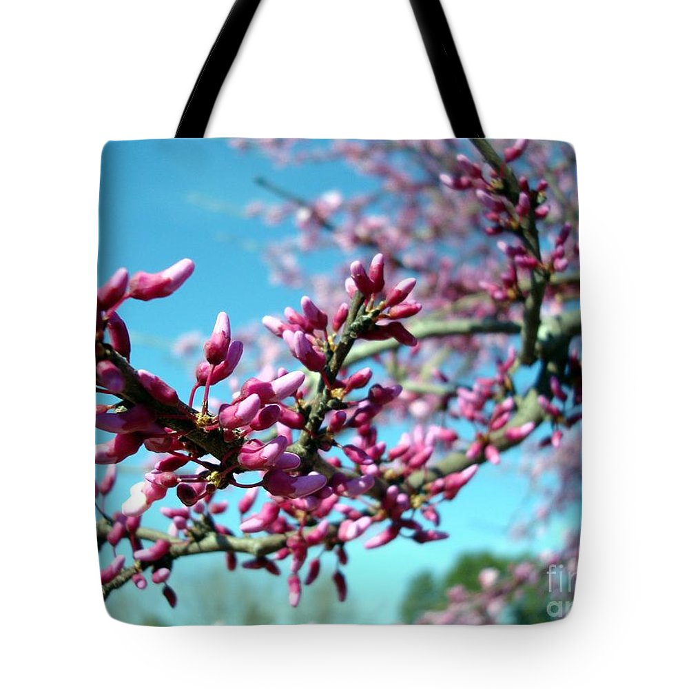 Flowers Tote Bag featuring the photograph Spring Bliss by Kathy Bucari