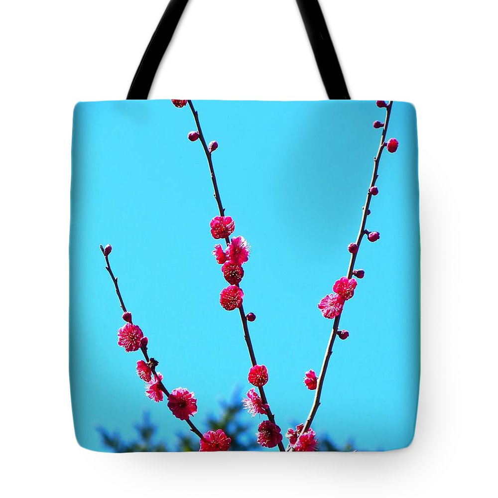 Posters Tote Bag featuring the photograph Spring Blooms by Sonali Gangane