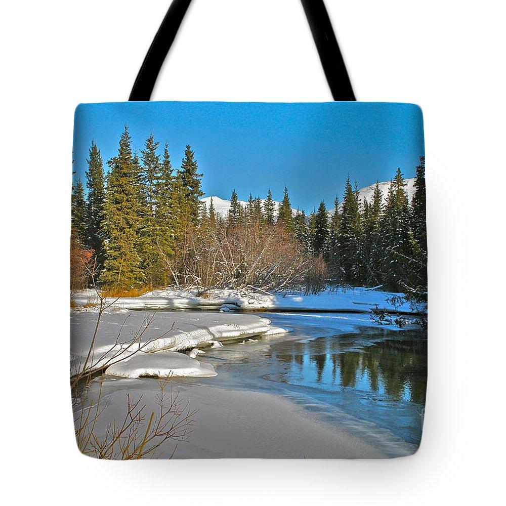 Alaska Tote Bag featuring the photograph Spring Break by Rick Monyahan