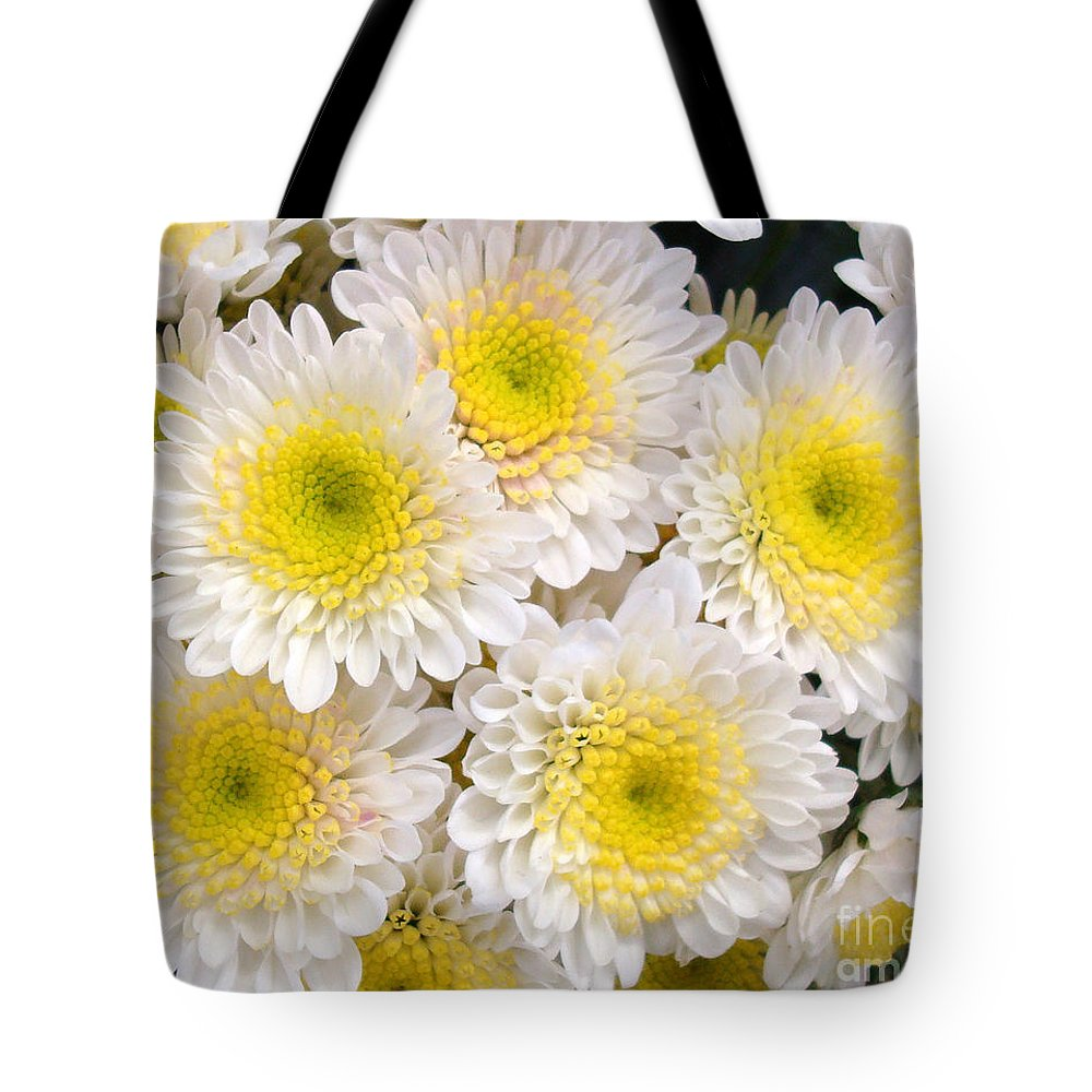 Floral Tote Bag featuring the photograph Spring Fever by Kathy Bucari