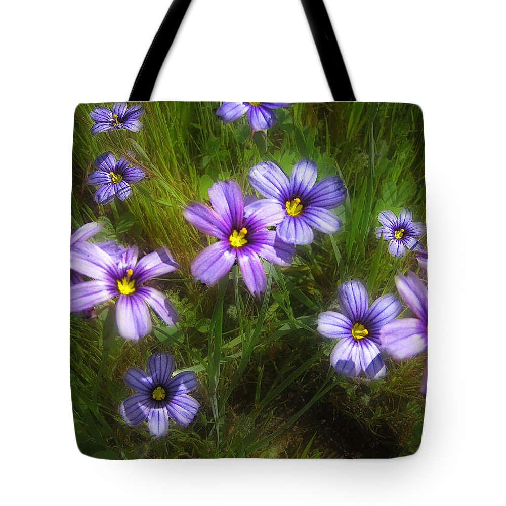Flowers Tote Bag featuring the photograph Spring Flowers by Karen W Meyer