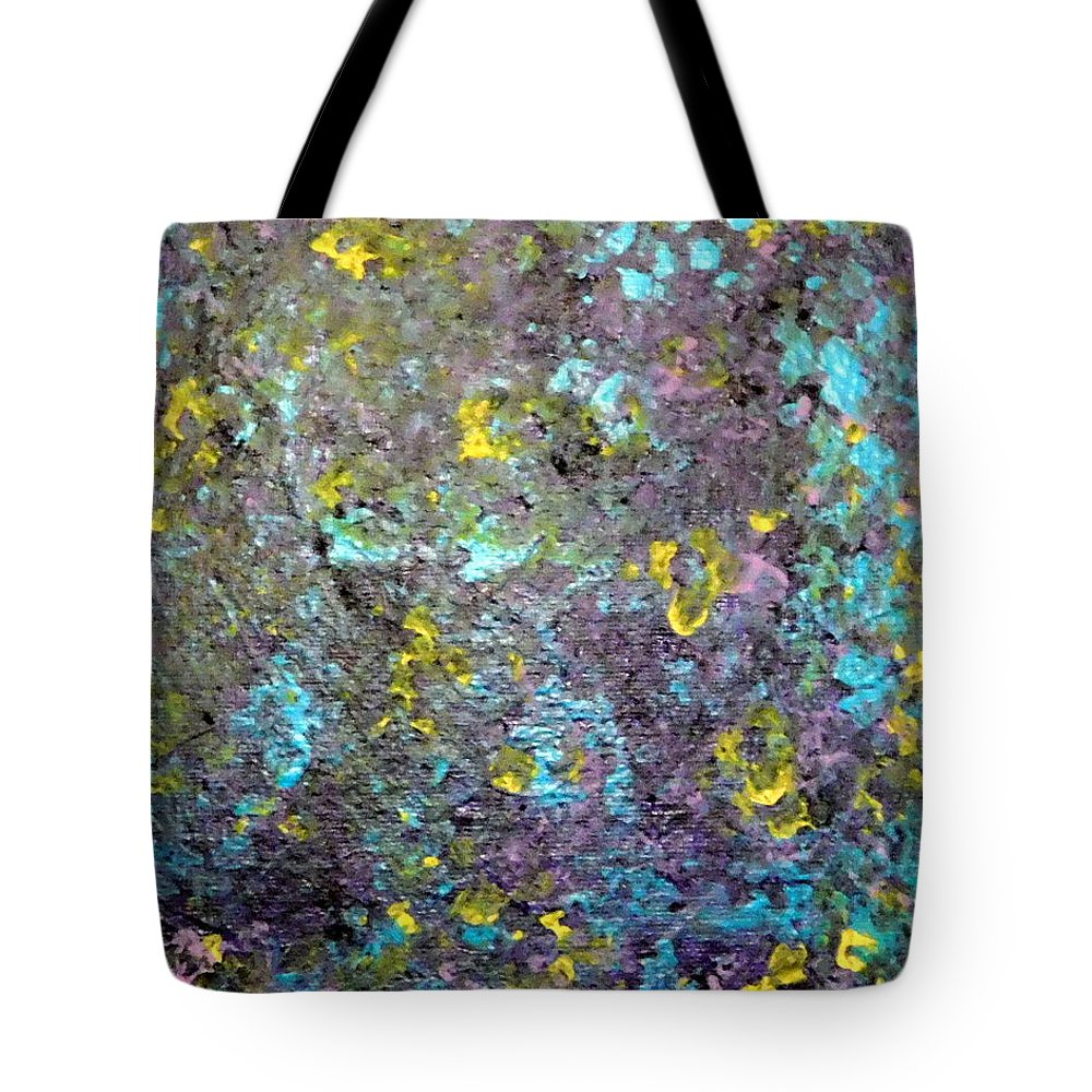 Abstract Tote Bag featuring the painting Spring by Barb Montanye Meseroll