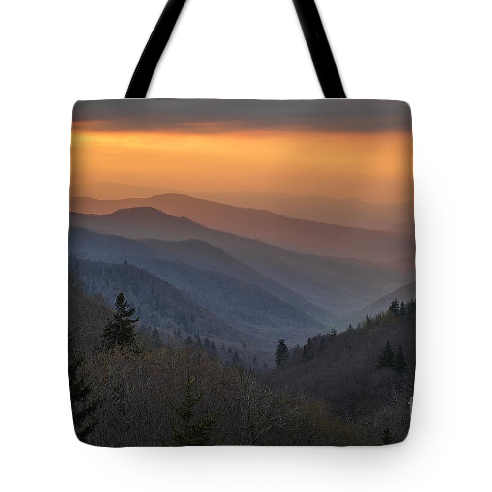 Great Smoky Mountain Tote Bag featuring the photograph Spring No2. by Itai Minovitz