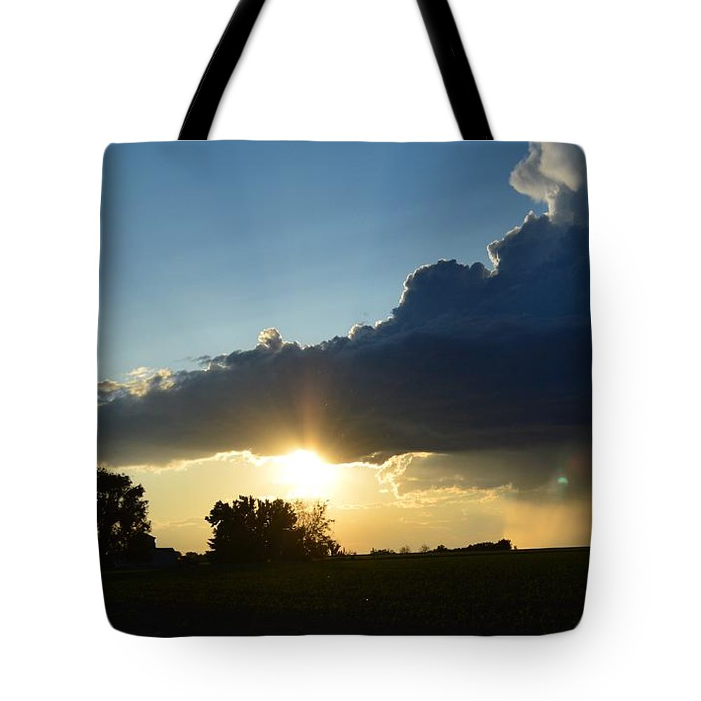 Storm Tote Bag featuring the photograph The Sun Always Comes After The Storm by Kayla Craig